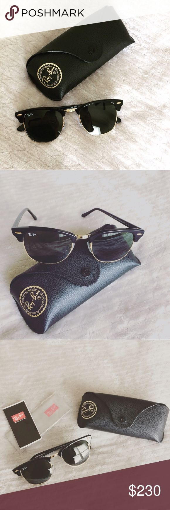 New! Ray-Bans! Unisex; look great in males or females! Classy, everyday sunglasses. New, never used. Final price at $150.00. Ray-Ban Accessories Sunglasses