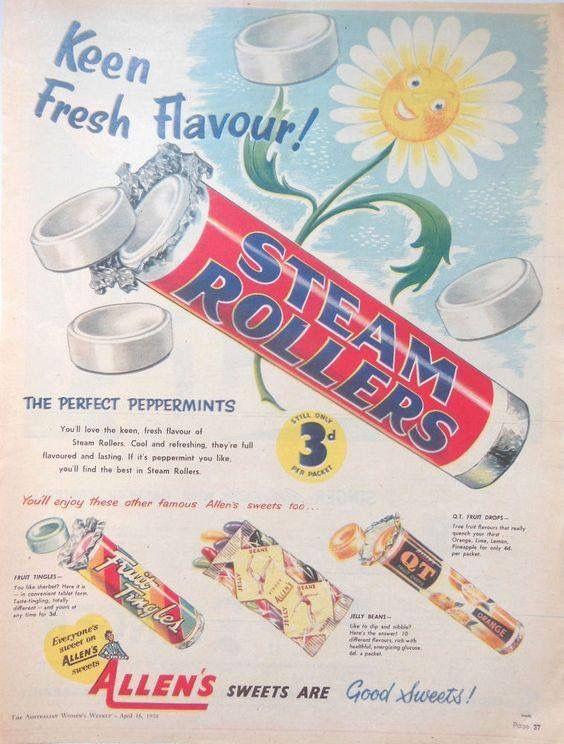 Allen's Steam Rollers Australia 1958