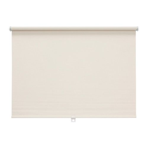 IKEA - DISKODANS, Block-out roller blind, 90x160 cm, , The blackout blind has a special coating and does not let any light through.Can be cut to the desired width.The blind is cordless for increased child safety.