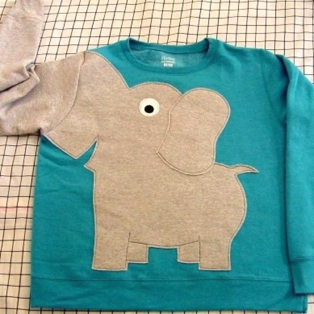 DIY Elephant Sweater!! Soo making myself one!