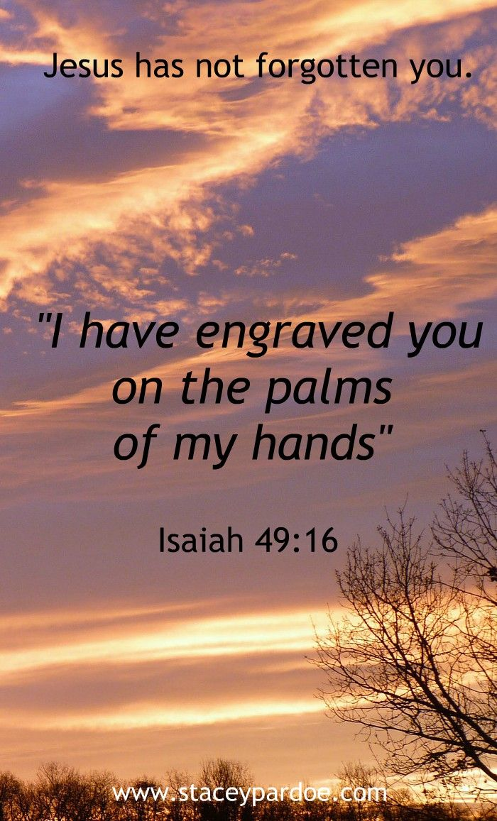 Jesus knows your name. He is waiting for you to turn to him and receive his embrace.