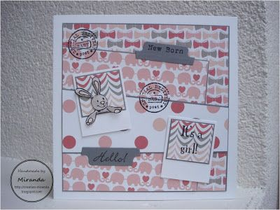 Miranda's Creaties - Themadag #22: polaroid meisje #3