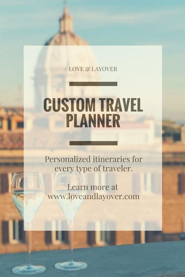 Custom Travel Planning #custom #travel #travelplanner #personalizedtravel #customitineraries #customtravel #traveltheworld #travelinspo