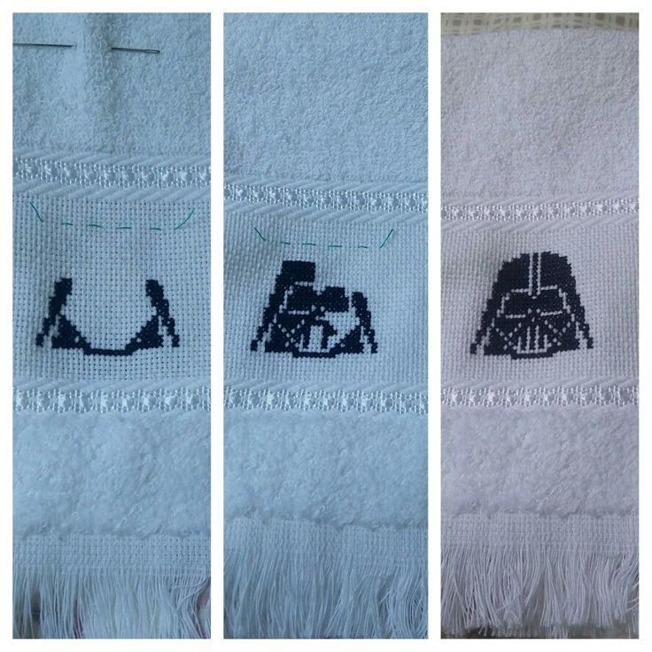 Toalha de mão Darth Vader