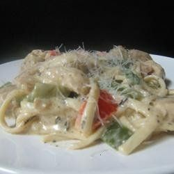 """rattlesnake pasta"" at 54th street bar & grill"