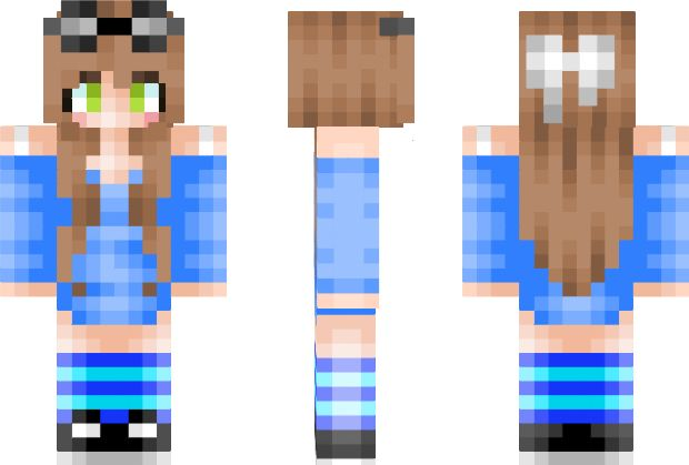 ✌️✌️✌️✌️✌️✌️✌️✌️✌️✌️✌️ Girl Minecraft Skin. By the way This isn't a personal skin