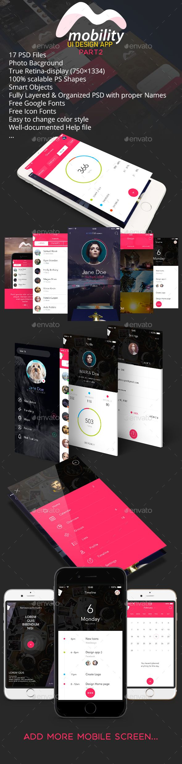 OS9 / Mobility UI Kit Template PSD. Download here: http://graphicriver.net/item/os9-mobility-ui-kit-part2/14844699?ref=ksioks