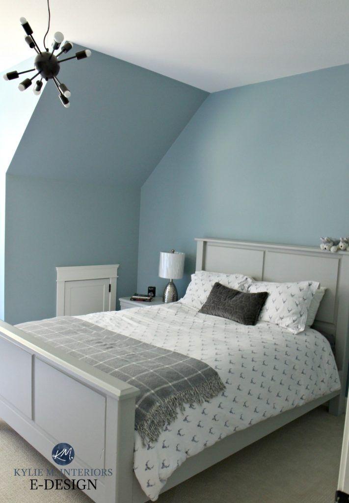 Benjamin Moore Colorado Gray In Boy Or Tween Bedroom Gray Accents