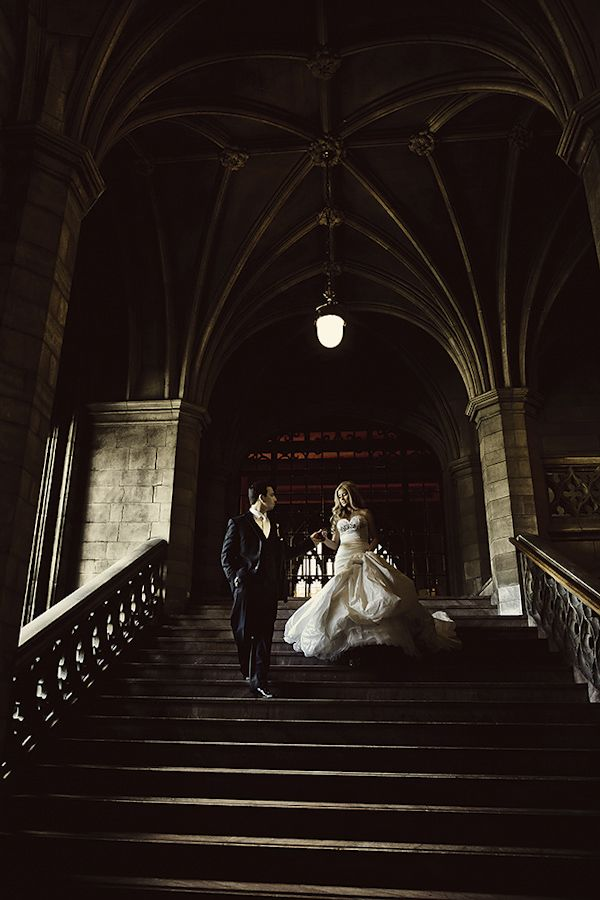 Wedding planning 101. Simple 12 month timeline... wedding portrait of bride and groom by Dmitri Markine | via junebugweddings.com