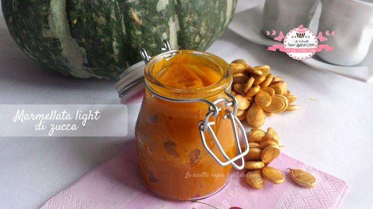 Marmellata light di zucca (54 calorie)