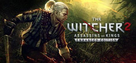 The Witcher 2 - J'aime bien la simplicité typo de ce logo