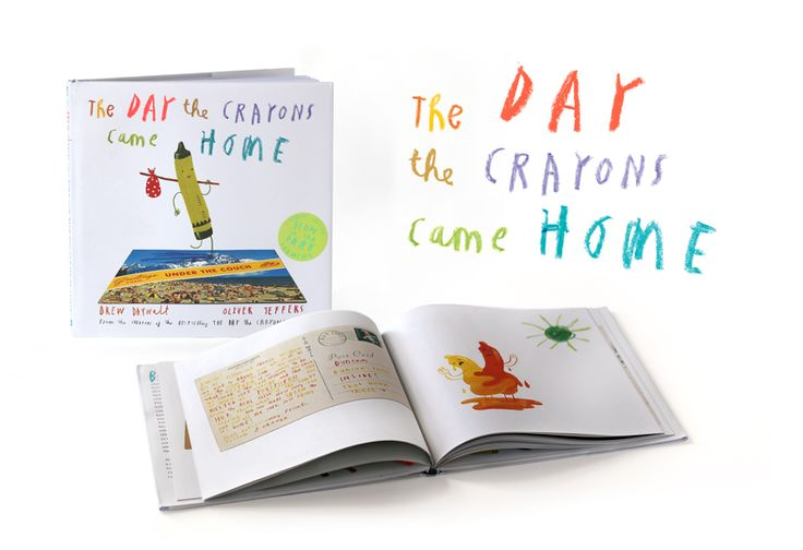 Oliver Jeffers - Picture Books - The Day The Crayons Came Home  - was on my Christmas list this year. thanks Santa
