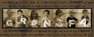 Father's Day gift photo idea with the grand kids. Gotta do this