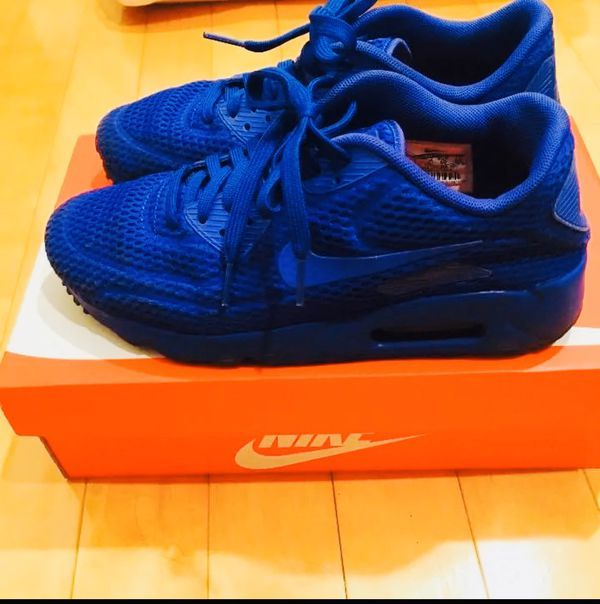 Nike Air Max 90 Blue in 2019   Nike air max, Air max 90, Air max