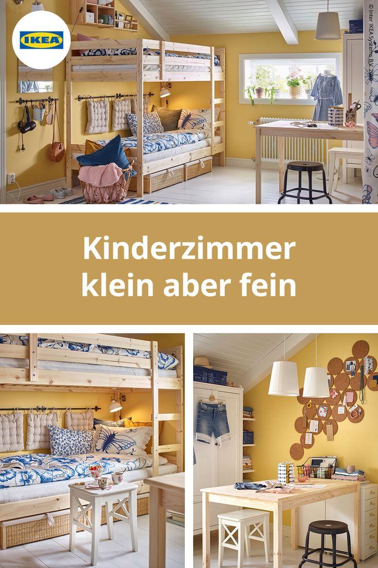 Kleines gemeinsames Zimmer mit großen Ideen #kinderzimmer