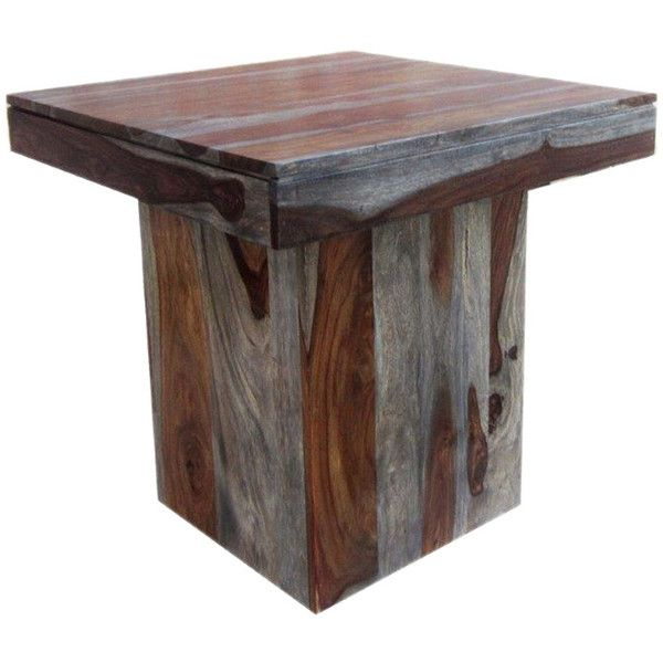 End Table (18,475 MKD) ❤ liked on Polyvore featuring home, furniture, tables, accent tables, nocolor, coast to coast furniture, sheesham table, sheesham wood furniture, colored end tables and sheesham furniture