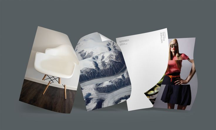 Design: Triptych Designer: Felix Ackerman Products: Letterheads, Notecards, MiniCards, Business Cards