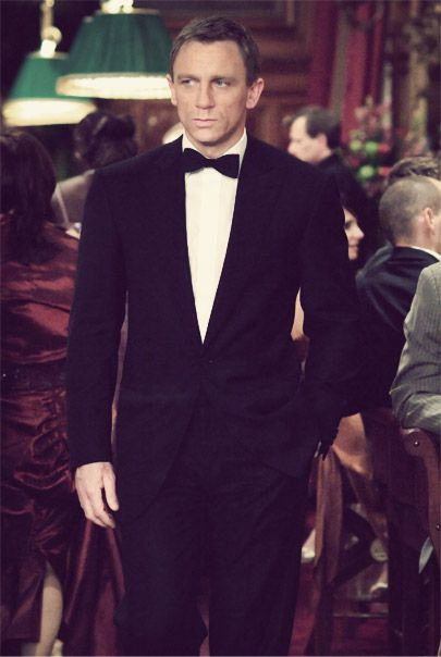 Mr Daniel Craig as James Bond in Casino Royale, 2006