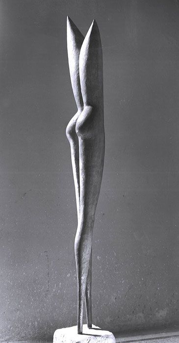 Icaro (1957); Prefectural Museum, Marcello Mascherini (sculptures, plastic arts, visual arts, fine arts)