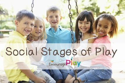 Social Stages of Play  http://www.encourageplay.com/blog/social-stages-of-play A great explanation of the social stages of play, includes a great image too!