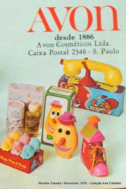 Ana Caldatto : Coleção Potes de Talco e Perfumes AVON Vintage