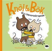 Knöl & Bök och dammråttorna (EJ LÄST) Den här gången ger sig Knöl och Bök på ett livsfarligt städuppdrag.I Knöl och Böks rum är det stökigt. Pappa tycker att det är dags att städa. Men hur gör man när armarna inte vill och dammråttorna visar sina vassa tänder? Knöl och Bök får hjälp av morbror Mojäng, men räcker det?Detta är den tredje boken i serien om de charmiga syskonen Knöl och Bök, fylld av värme och humor.