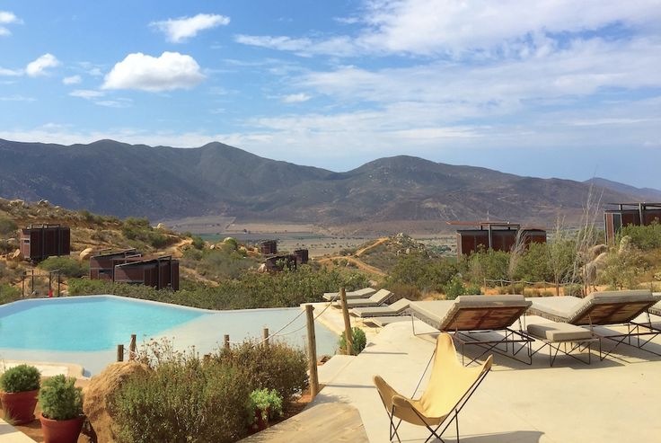 The wine country in northern Baja, Valle de Guadelupe is the next big thing. And Encuentro Guadalupe is the place to stay