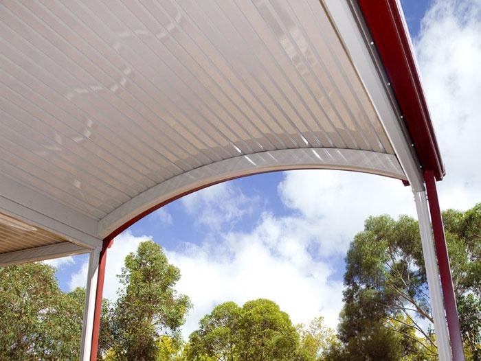 Curved Stratco Outback - Verandas, Pergolas, Patios & Carports