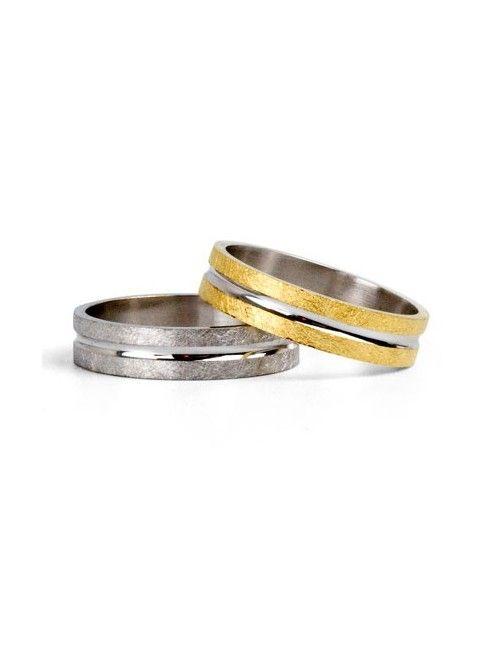 #aliança boda or bicolor #alianza boda oro bicolor Ref: 1080