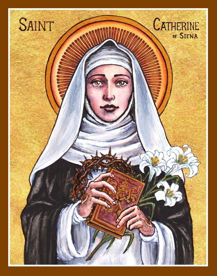 """St. Catherine of Siena icon by ~Theophilia on deviantART """"If you are who you are meant to be, you will set the world on fire!"""" ~ St. Catherine of Siena"""