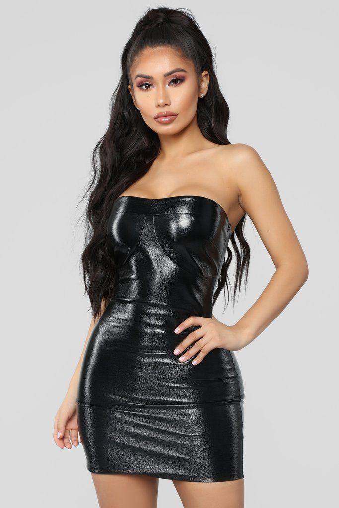 4ab7fa5e265 Baddies Only Mini Dress - Black Tight Dresses