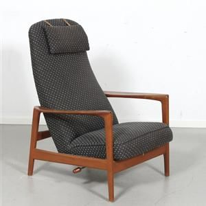 Lauritz.com - Möbler - Dux, fåtölj teak 1950/60-tal - SE, Örebro, Aspholmen