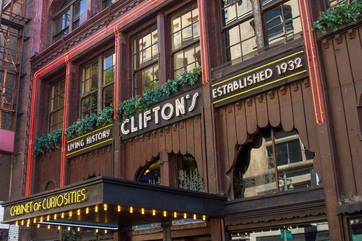 On Thursday, Clifton's Cafeteria celebrated its official ribbon cutting ceremony, with brief remarks by mayor Eric Garcetti, actress June Lockhart, councilman José...