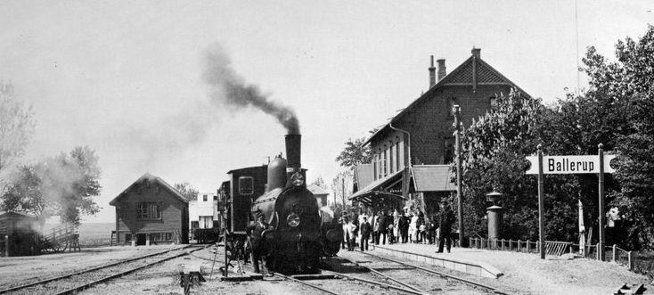 Ballerup (station) ca. 1925