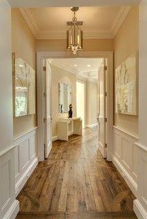 Floors, colors, light fixture