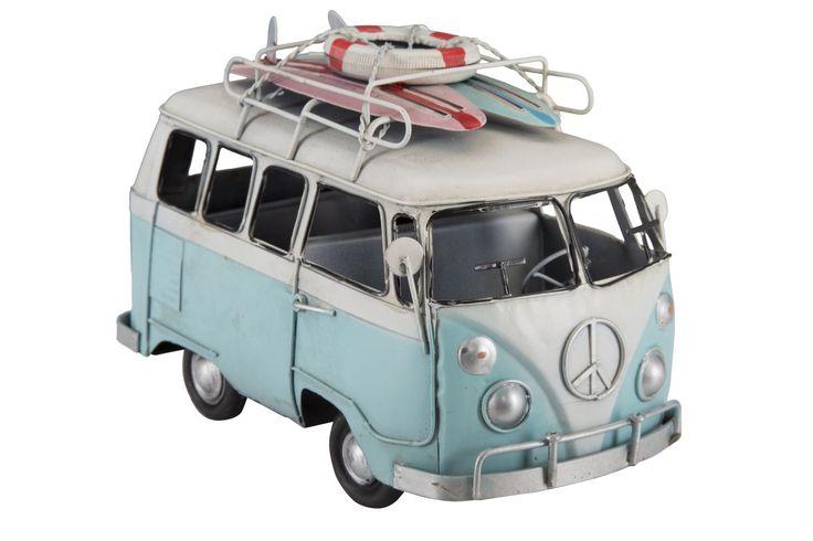 #MauroFerrettiSrl 0115280000 FURGONCINO SURF CM 21X11X14 MIN 2 #mauroferrettisrl #home #homedecor #decor #casa #arredo #arredamento #furgone #furgoncino #surf #hippie #american #holidays #newitem #newlook #italiansdoitbetter