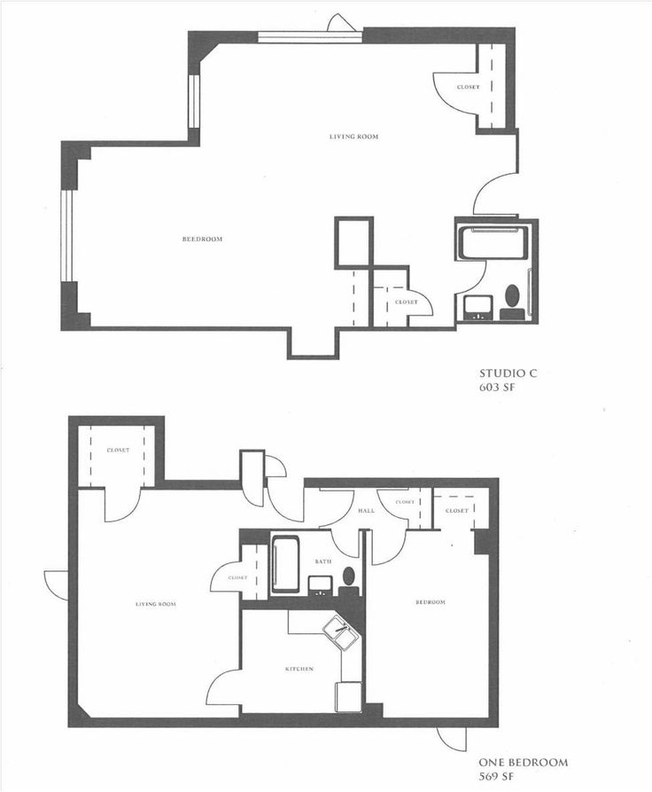 Living Room Floorplan: Apartments Floor Plan Studio C Apartment Layouts And One