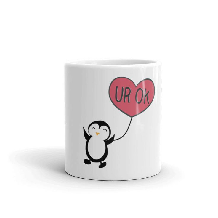 Excited to share the latest addition to my #etsy shop: You're Ok, I Suppose Mug | Valentine's Day Mug | Cute Mugs | Funny Mugs | Contemporary Mugs | Coffee Mug | Funny Quote | Penguin http://etsy.me/2DjlMrM #acessoriosparaacasa #white #housewarming #valentinesday #red