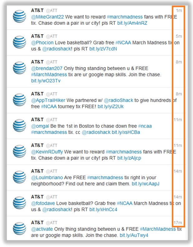 AT&T's Twitter SPAM Snafu Highlights Dangers of Automation, Outsourcing. Nice apology from social media manager.