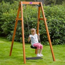 how to build a single swing frame