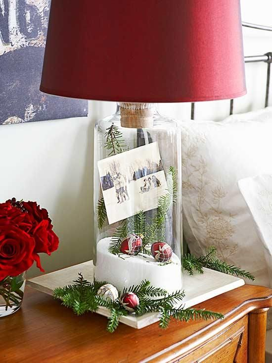 24 DIY Christmas Card Display Ideas Xmas photo card display ideas