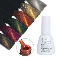 10ml BORN PRETTY Holographic Cat Eye UV Gel Magnetic Soak Off Nail Art Polish
