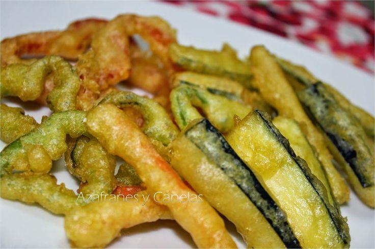 Verduras en tempura | Azafranes y Canelas