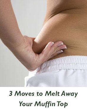 3 Moves to Melt Away Your Muffin Top: These exercises are actually doable! Just set aside the time :)