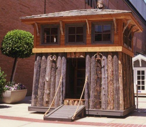 playhouse for boys | Playhouses | Boys Playhouse Ideas