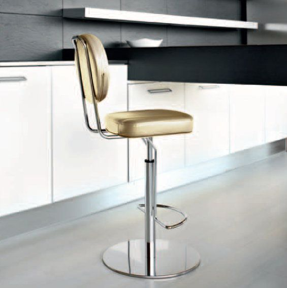 BridgeAir Stool  This amazingly elegant and flamboyant stool will catch the attention of every guest coming into your house or bar. It's a very unique piece, and it will give a great sense of style to your place.