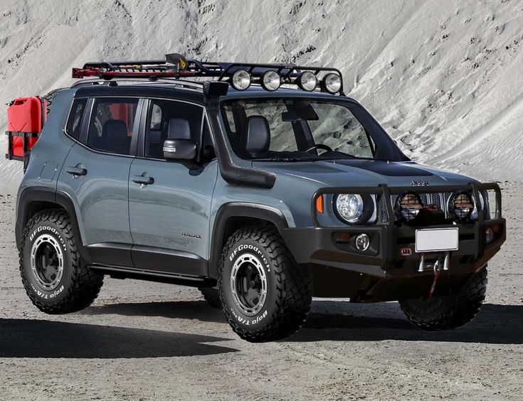 jeep renegade trailhawk with all the toys. Black Bedroom Furniture Sets. Home Design Ideas