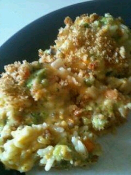Broccoli,cheese and rice casserole | recipes to try | Pinterest