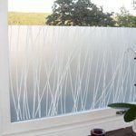 """Maria Linn linjer window film from Scandinavian Design Center, $37 for 19.7"""" x 39.4"""""""