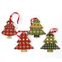 Fenyőfa karácsonyfa dísz